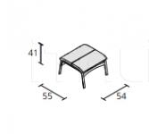 Кресло armframe soft Alias