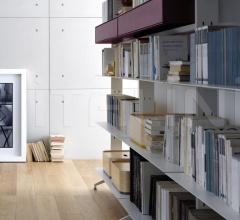 Книжный стеллаж aline фабрика Alias
