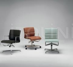 Кресло meetingframe lounge 52 soft фабрика Alias