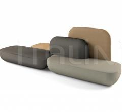 Модульный диван okome фабрика Alias