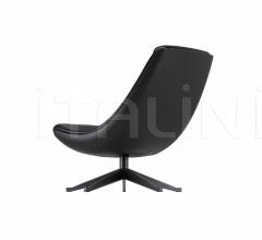 Кресло manzu lounge фабрика Alias