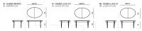 Раздвижной стол Apogeo 1126 DS26T09 Tonin Casa