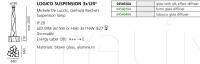 Подвесной светильник Logico suspension 3x120° Artemide