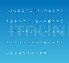 Настенный светильник Alphabet of light фабрика Artemide