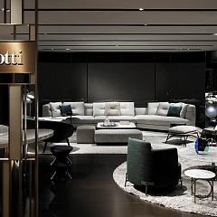 Открытие Minotti Boutique в Токио - Итальянская мебель