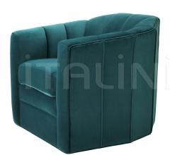 Кресло Swivel Delancey 111725 фабрика Eichholtz