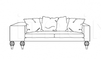 Двухместный диван Apollo JC Passion