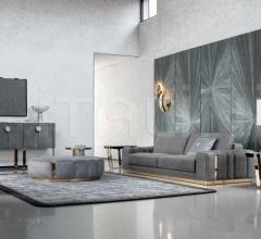 Пуф Round ottoman for Charisma sofa фабрика Giorgio Collection