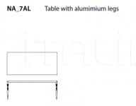Стол обеденный New Antiques Restaurant Table Cappellini