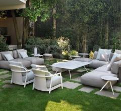 Итальянские уличные диваны - Модульный диван Eddy фабрика Flexform