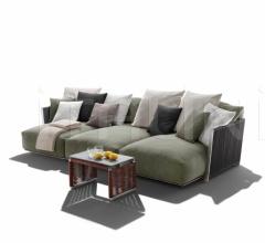 Итальянские уличные диваны - Модульный диван Vulcano фабрика Flexform
