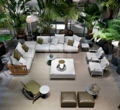 Итальянские уличные диваны - Модульный диван Zante фабрика Flexform