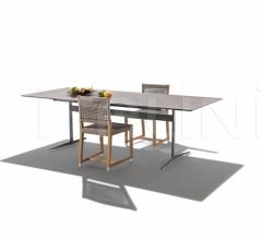 Итальянские уличные столы - Стол обеденный Fly Outdoor фабрика Flexform