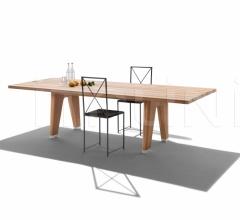 Итальянские уличные столы - Стол обеденный Monreale Outdoor фабрика Flexform