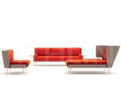 Кресло Architecture & Associes Lounge Chair фабрика Knoll
