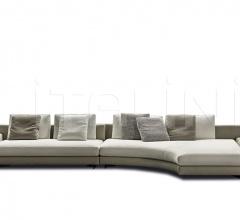 Модульный диван Daniels фабрика Minotti