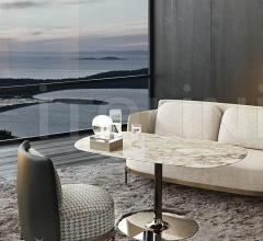Итальянские барные столы - Барный стол Oliver Lounge фабрика Minotti