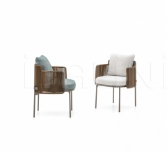 Итальянские уличные стулья - Стул Tape Cord Outdoor фабрика Minotti