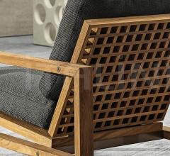 Итальянские уличные кресла - Кресло Quadrado фабрика Minotti