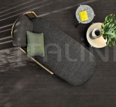 Итальянские уличные диваны - Диван Tape Cord Outdoor фабрика Minotti