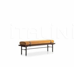 Итальянские скамьи - Банкетка TWELVE A.M. фабрика Molteni & C