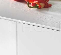 Итальянские угловые кухни - Кухня 36e8 Glass Kitchen 1099 фабрика Lago