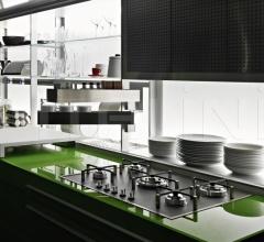 Кухня Artematica Vitrum Green Grass фабрика Valcucine