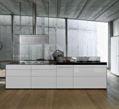 Кухня Artematica Mutiline Ice White фабрика Valcucine