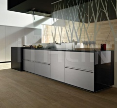 Кухня Artematica Multiline Aluminum Steel Finishing фабрика Valcucine