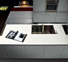 Кухня Artematica Multiline Ruled Aluminium фабрика Valcucine