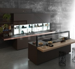 Кухня Genius Loci with copper drawer фабрика Valcucine