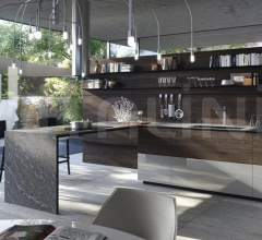 Кухня Forma Mentis with lacquered door фабрика Valcucine