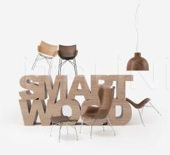 Кресло K/WOOD фабрика Kartell