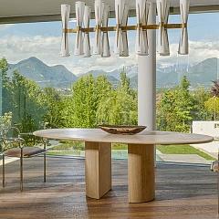 Обеденный стол Dolmen от Cappellini - Итальянская мебель