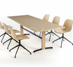 Стол обеденный PIANA WOOD XL фабрика Arrmet