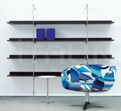 Книжный стеллаж Aliante ALI3 фабрика Cappellini