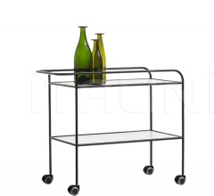 Итальянские сервировочные столики - Сервировочный стол Steel Pipe Drink Trolley фабрика Cappellini