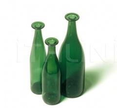 Ваза 3 Green Bottles PO_9225 фабрика Cappellini