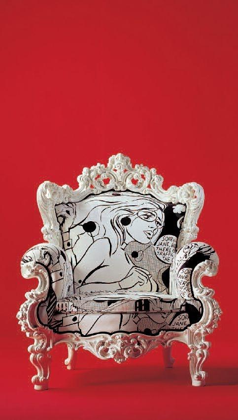 Кресло GIACOMO CR/841 Creazioni