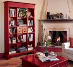 Книжный стеллаж Zenit 1483 L0310 фабрика Tonin Casa