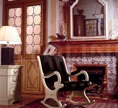 Кресло-качалка 4376 L3010 TQ05 фабрика Tonin Casa