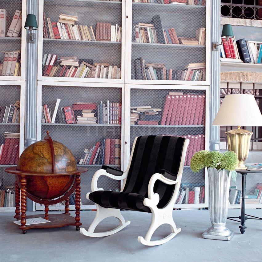 Кресло-качалка 4376 L0102 TQ18 Tonin Casa