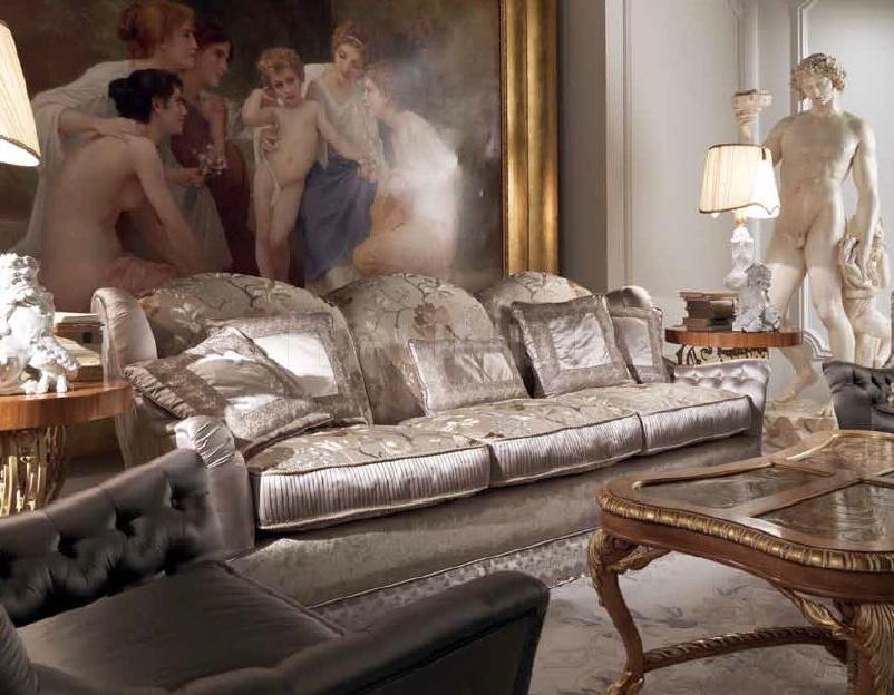 Трехместный диван HER-53b Jumbo Collection
