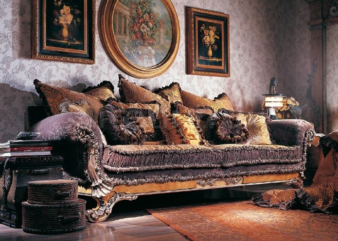 Трехместный диван FRE-43c Jumbo Collection