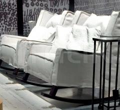 Итальянские кресла - Кресло ROCKING HOUSSE фабрика Baxter