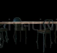 Итальянские столы обеденные - Стол обеденный GALBES фабрика Baxter