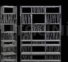 Итальянские стеллажи - Книжный стеллаж BORGES фабрика Baxter