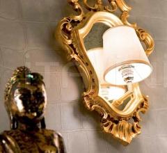 Итальянские настенные зеркала - Настенное зеркало 729/L фабрика Silik