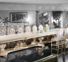 Итальянские столы для конференц зала - Стол 9956/M фабрика Silik