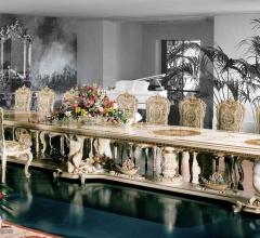 Итальянские столы для конференц зала - Стол 925/D фабрика Silik